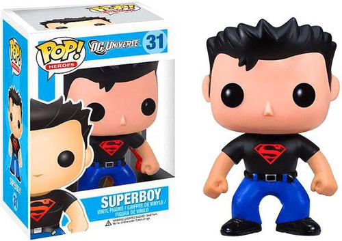 Funko DC Universe POP! Heroes Superboy Vinyl Figure #31