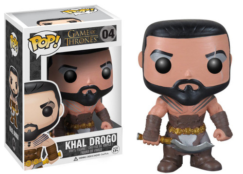 Funko Game of Thrones POP! TV Khal Drogo Vinyl Figure #04