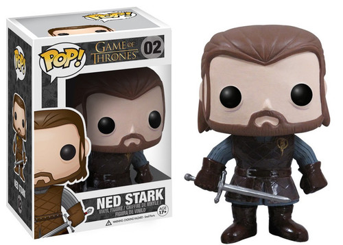 Funko Game of Thrones POP! TV Ned Stark Vinyl Figure #02