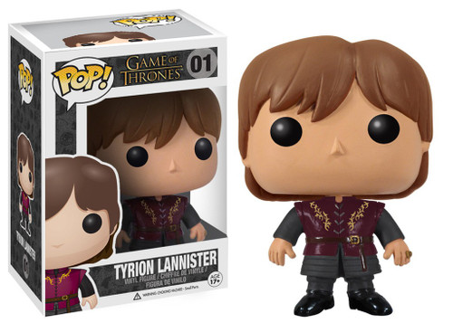 Funko Game of Thrones POP! TV Tyrion Lannister Vinyl Figure #01