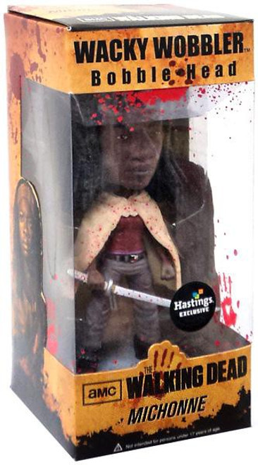 Funko The Walking Dead Wacky Wobbler Michonne Exclusive Bobble Head [Bloody]