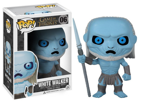 Funko Game of Thrones POP! TV White Walker Vinyl Figure #06