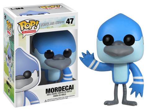 Funko Cartoon Network Regular Show POP! TV Mordecai Vinyl Figure #47