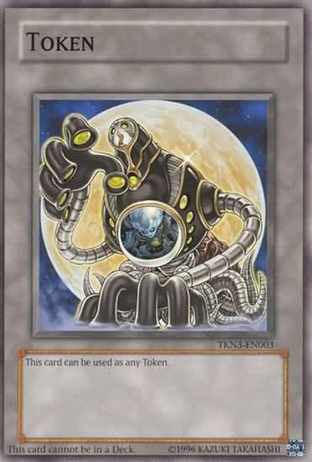 YuGiOh Promo Token Cards Common Arcana Force Moon Token TKN3-EN003