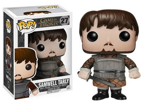 Funko Game of Thrones POP! TV Samwell Tarly Vinyl Figure #27