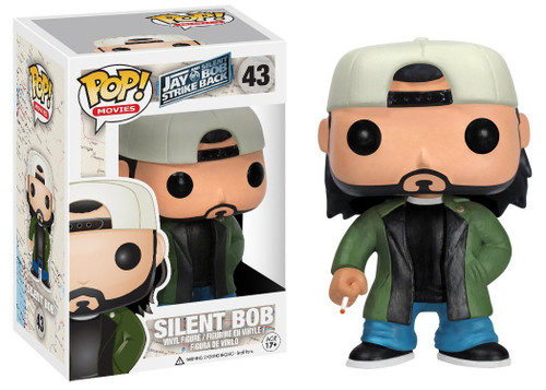 Funko Jay & Silent Bob Strike Back POP! Movies Silent Bob Vinyl Figure #43