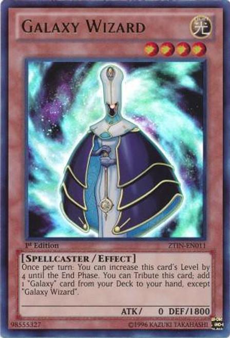 YuGiOh Trading Card Game 2013 Collector Tin Ultra Rare Galaxy Wizard ZTIN-EN011