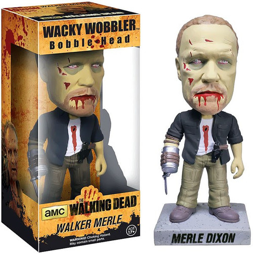 Funko The Walking Dead Wacky Wobbler Walker Merle Bobble Head