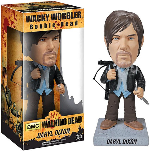 Funko The Walking Dead Wacky Wobbler Daryl Dixon Bobble Head [Biker]