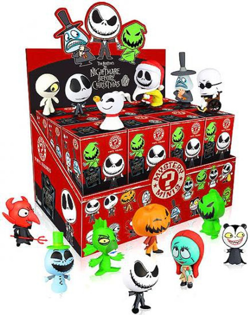 Funko Nightmare Before Christmas Mystery Minis NBX Series 1 Mystery Box [24 Packs]