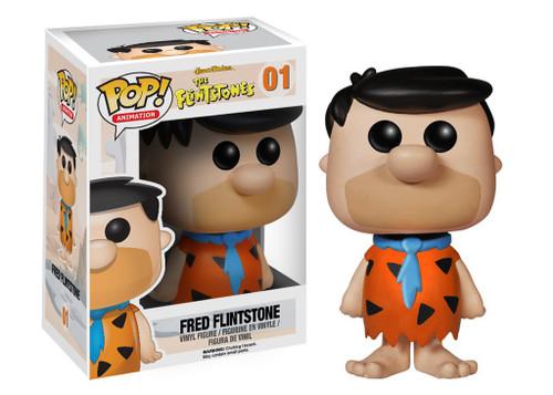 Funko Hanna-Barbera The Flintstones POP! Animation Fred Flintstone Vinyl Figure #01