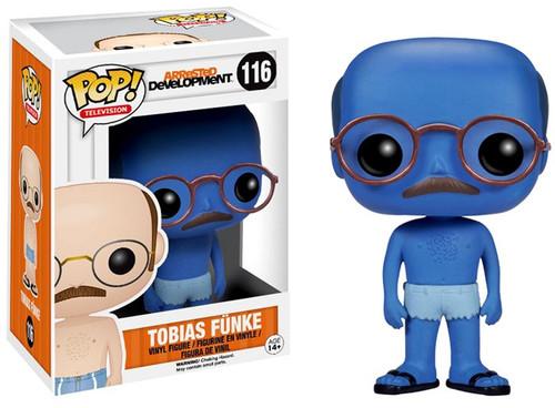 Funko Arrested Development POP! TV Tobias Funke Vinyl Figure #116 [Blue Man, Chase Version]