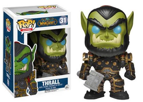 Funko World of Warcraft POP! Games Thrall Vinyl Figure #31