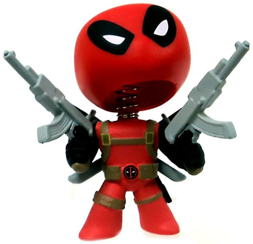 Funko Marvel Series 1 Mystery Minis Deadpool Mystery Minifigure [Holding Guns Loose]
