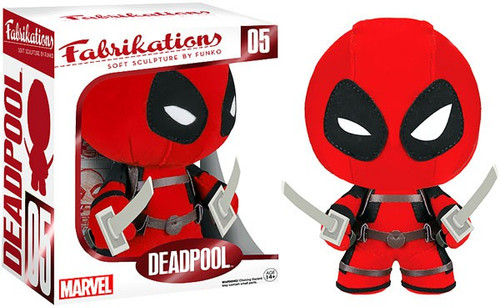 Marvel Funko Fabrikations Deadpool Plush #05