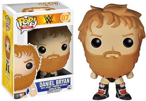 Funko WWE Wrestling POP! Sports Daniel Bryan Vinyl Figure #07 [Black Boots]