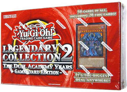 YuGiOh GX Trading Card Game Legendary Collection 2 The Duel Academy Years [Gameboard Edition]