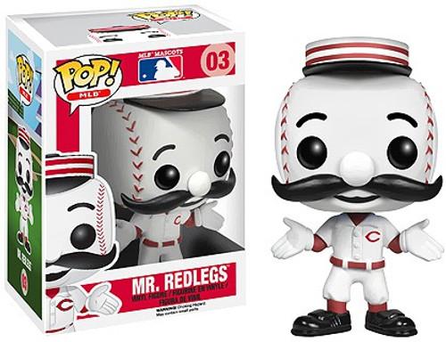 Funko MLB Cincinnati Reds POP! Sports Baseball Mr. Redlegs Vinyl Figure #03 [Mascot]
