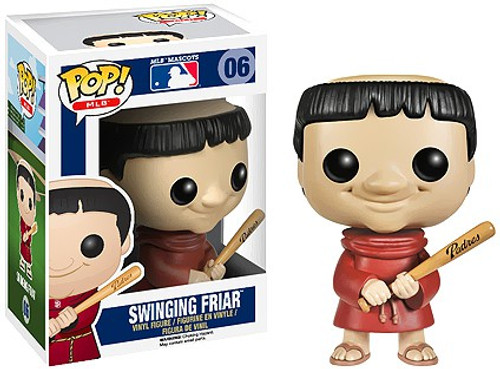 Funko MLB San Diego Padres POP! Sports Baseball Swinging Friar Vinyl Figure #6 [Mascot]
