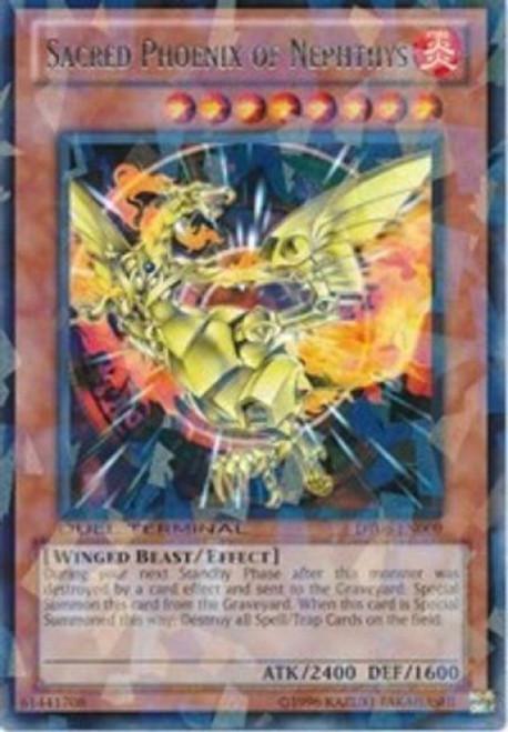 YuGiOh Duel Terminal 6 Parallel Rare Sacred Phoenix of Nephthys DT06-EN009