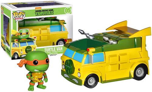 Funko Teenage Mutant Ninja Turtles POP! TV Turtle Van Vinyl Figure #05