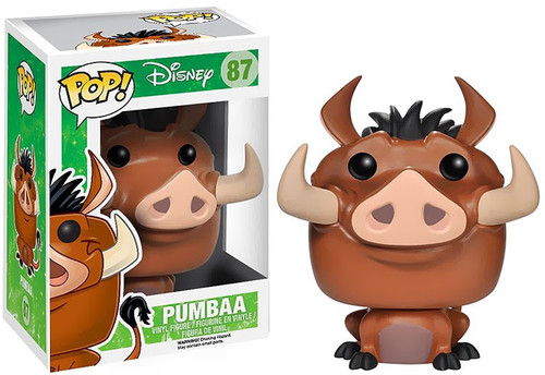 Funko The Lion King POP! Disney Pumbaa Vinyl Figure #87