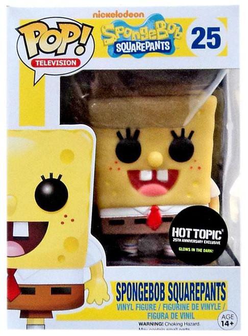 Funko POP! TV Spongebob Squarepants Exclusive Vinyl Figure #25 [Glow in the Dark!]