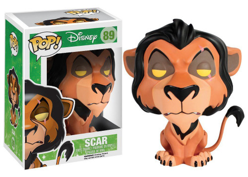 Funko The Lion King POP! Disney Scar Vinyl Figure #89