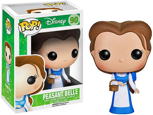 Funko Beauty and the Beast POP! Disney Peasant Belle Vinyl Figure #90