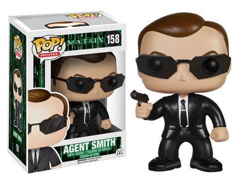 Funko The Matrix POP! Movies Agent Smith Vinyl Figure #158