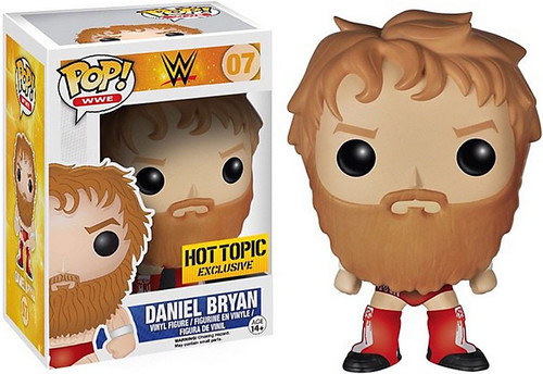 Funko WWE Wrestling POP! Sports Daniel Bryan Exclusive Vinyl Figure #07 [Red Boots Version]