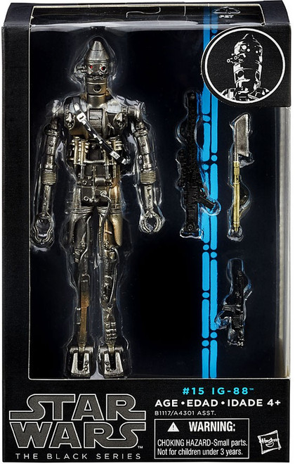 Star Wars The Empire Strikes Back Black Series Wave 9 IG-88 Action Figure