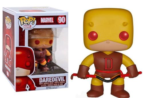 Funko POP! Marvel Daredevil Exclusive Vinyl Bobble Head #90 [Yellow Suit Variant]