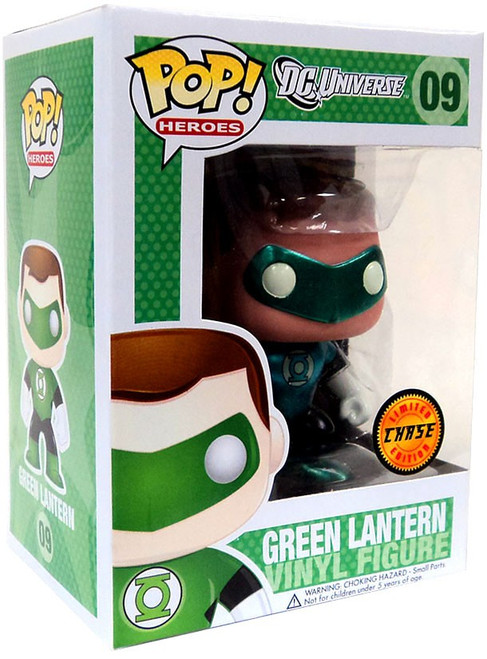 Funko DC Universe POP! Heroes Green Lantern Vinyl Figure #09 [Metallic, Chase Version]