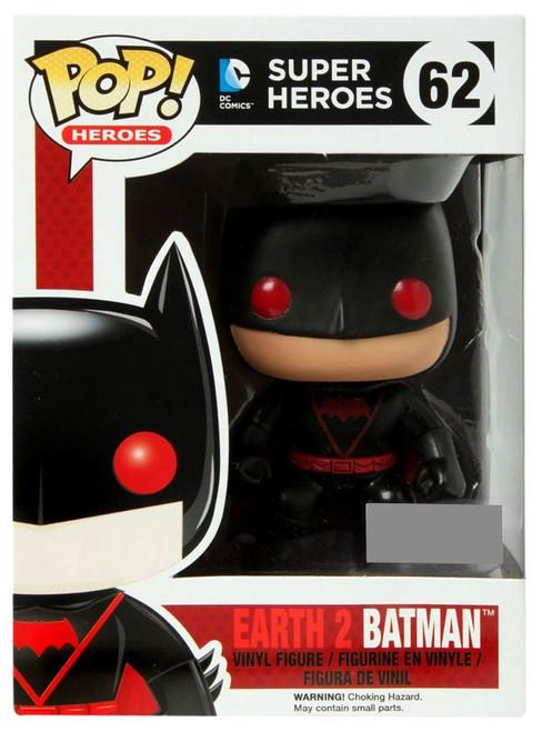 Funko DC Super Heroes POP! Heroes Earth 2 Batman Exclusive Vinyl Figure #62
