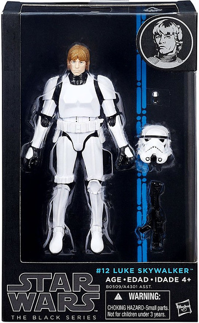 Star Wars A New Hope Black Series Wave 8 Luke Skywalker Action Figure