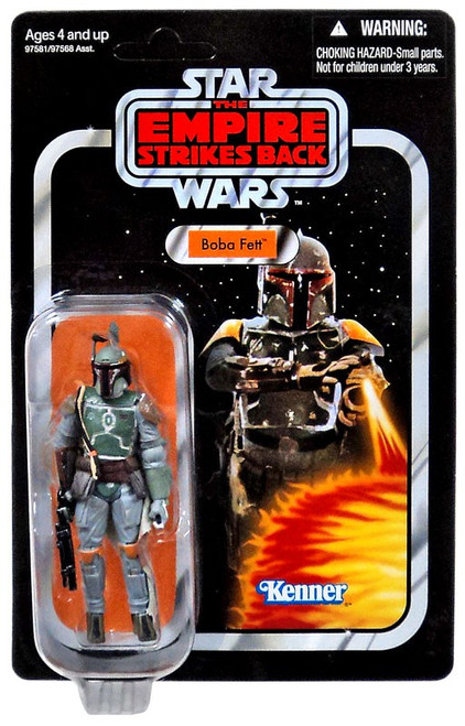 Star Wars The Empire Strikes Back 2011 Vintage Collection Boba Fett Action Figure #09 [Empire Strikes Back Packaging]