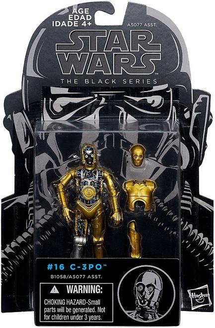 Star Wars The Empire Strikes Back Black Series C-3PO Action Figure #16