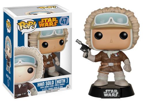 Funko The Empire Strikes Back POP! Star Wars Han Solo Exclusive Vinyl Bobble Head #47 [Hoth]