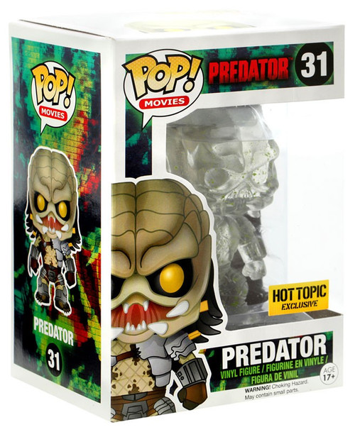 Funko POP! Movies Predator Exclusive Vinyl Figure #31 [Translucent Bloody Variant]