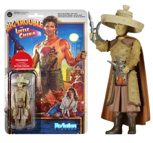 Funko Big Trouble in Little China ReAction Thunder Action Figure