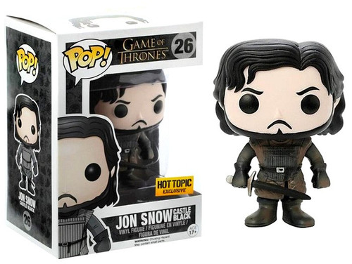 Funko Game of Thrones POP! TV Jon Snow Exclusive Vinyl Figure #26 [Exclusive Castle Black]