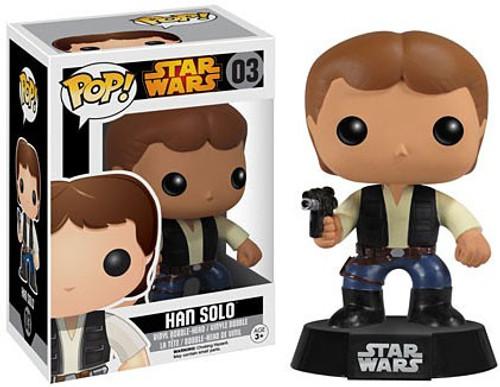 Funko POP! Star Wars Han Solo Vinyl Bobble Head #03 [Vaulted Edition]