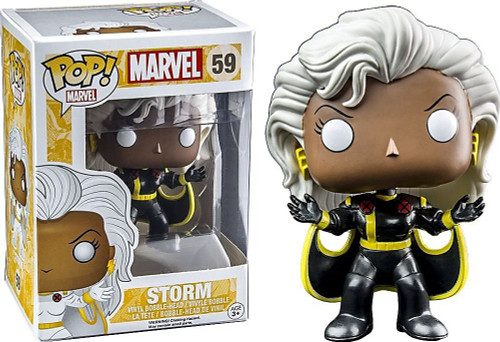 Funko POP! Marvel Storm Exclusive Vinyl Bobble Head #59 [Black Suit]