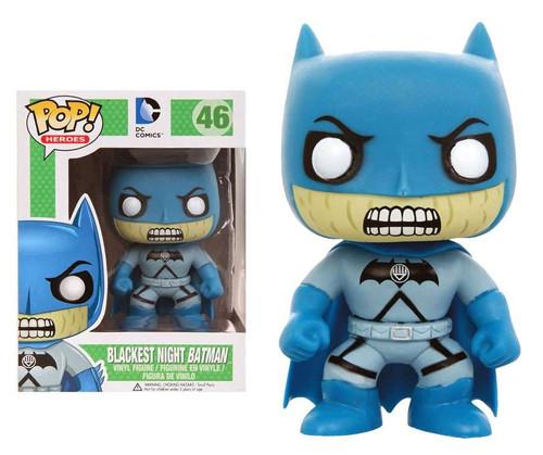 Funko DC Super Heroes POP! Heroes Blackest Night Batman Exclusive Vinyl Figure #46