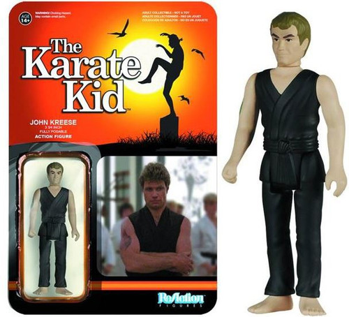 Funko The Karate Kid ReAction John Kreese Action Figure