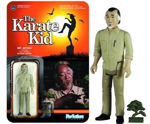 Funko The Karate Kid ReAction Mr. Miyagi Action Figure
