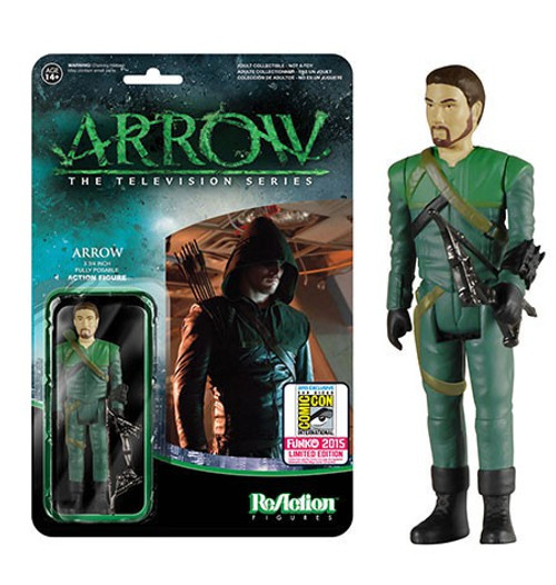 Funko ReAction Green Arrow Exclusive Action Figure [Unmasked]