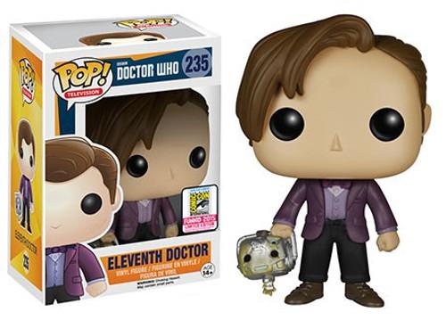 Funko Doctor Who POP! TV Eleventh Doctor Exclusive Vinyl Figure #235 [with Handles]