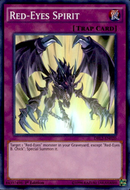 YuGiOh Dragons of Legend 2 Super Rare Red-Eyes Spirit DRL2-EN020